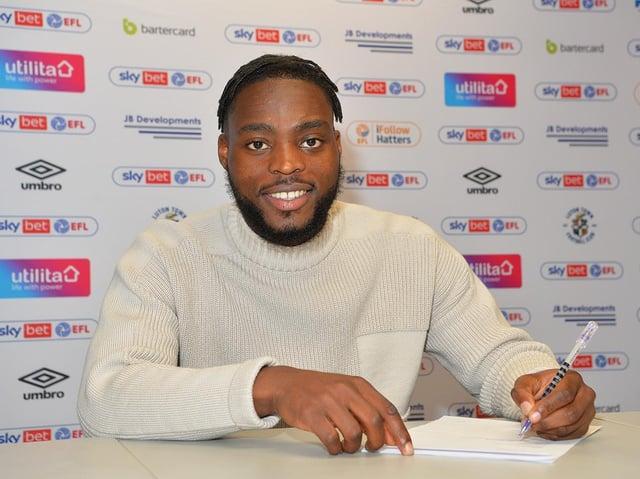 New Luton signing Fred Onyedinma