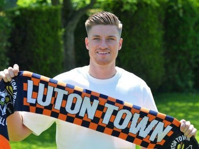 Reece Burke has joined the Hatters