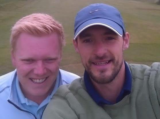 Peter Gale and Adam Ryan are taking on the 'toughest challenge in golf' to raise money for Macmillan Cancer Support