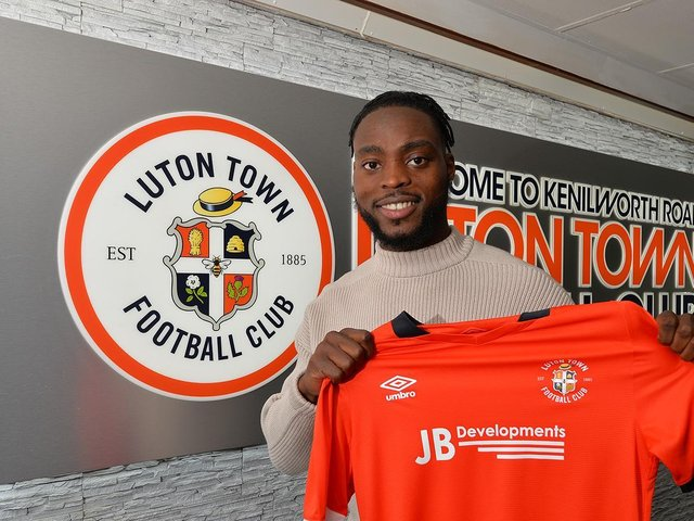 New Town signing Fred Onyedinma