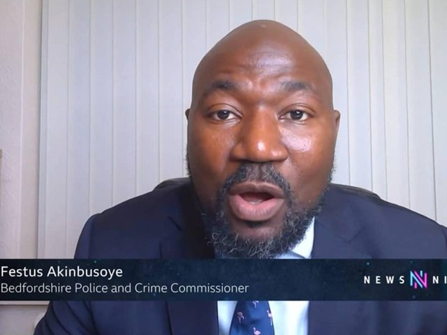 Beds PCC Festus Akinbusoye has vowed to tackle serious youth violence