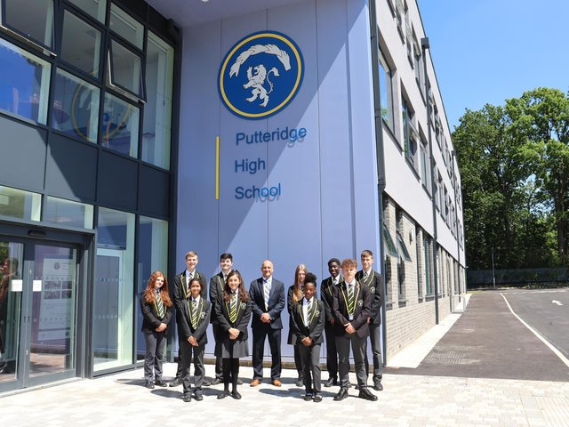 Putteridge High School has reopened after a £23m rebuild