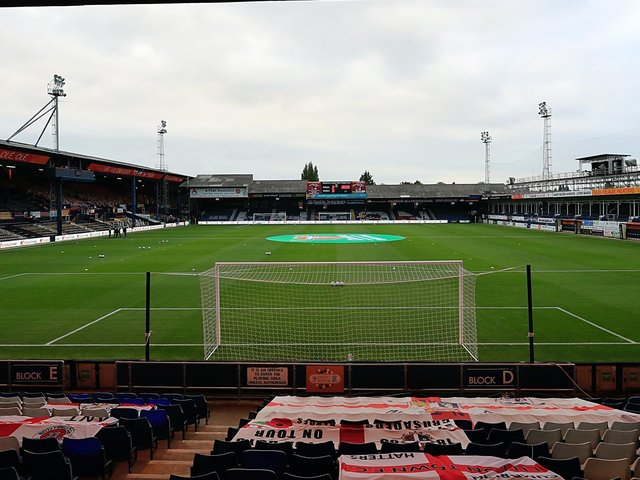 See who you picked in your Luton Town international XI