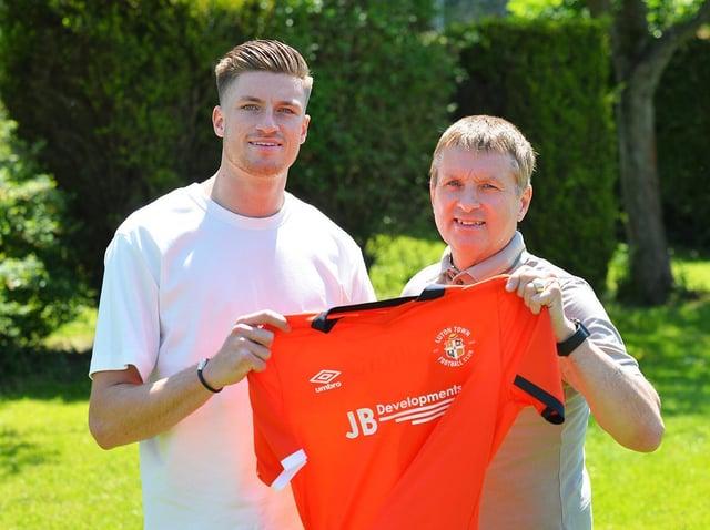 New Town defender Reece Burke