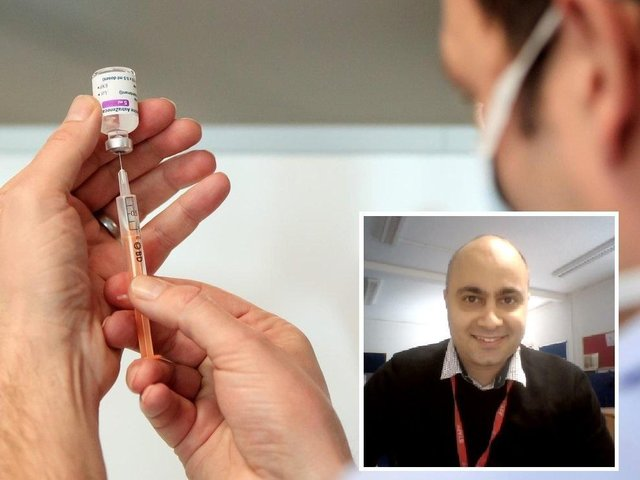 University of Beds' lecturer in public health, Dr Chris Papadopoulos, is backing government plans for all care home staff to be vaccinated