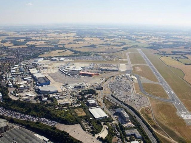 Three jobs will be created to support the council's company, London Luton Airport Ltd (LLAL)
