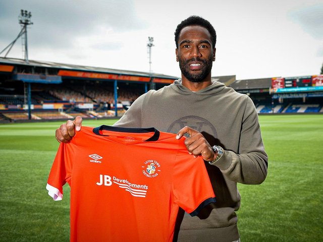 Cameron Jerome has signed for Luton