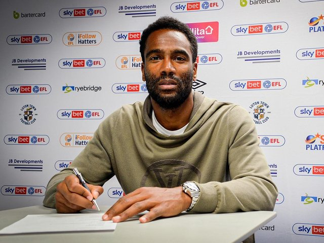 New Luton signing Cameron Jerome