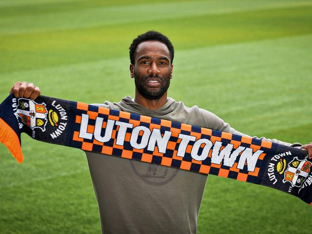 Luton's fourth summer signing Cameron Jerome