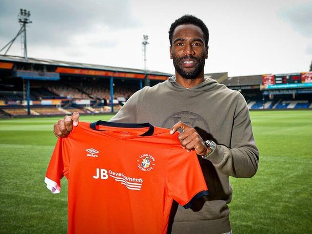 New Town striker Cameron Jerome
