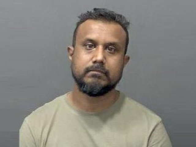 Mohammed Hussain has been jailed for three years