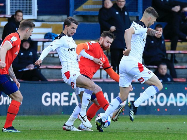 Town midfielder Ryan Tunnicliffe is yet to sign a new deal with Luton