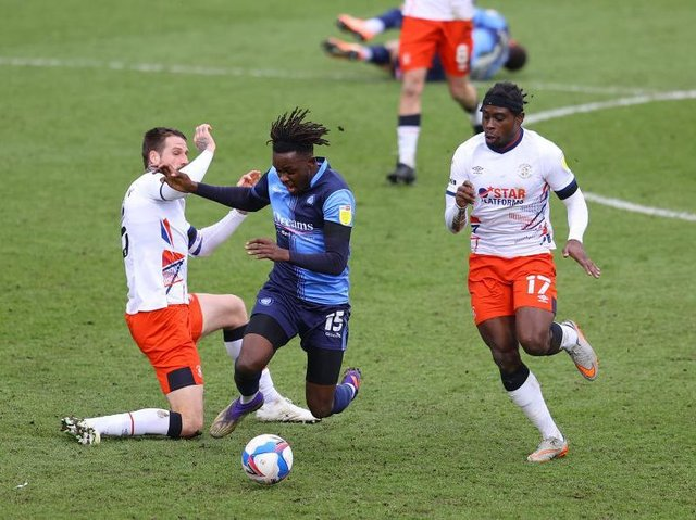 Pelly-Ruddock Mpanzu has yet to agree a new contract with Luton
