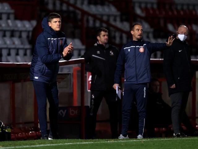 Stevenage manager Alex Revell
