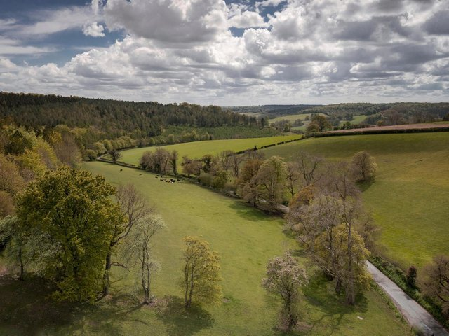 Chilterns AONB Turville taken in May 2021 (C) Hedley Thorne