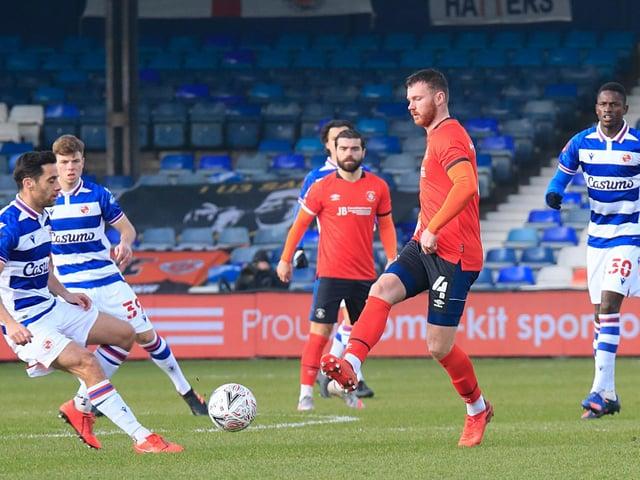 Midfielder Ryan Tunnicliffe has left Luton