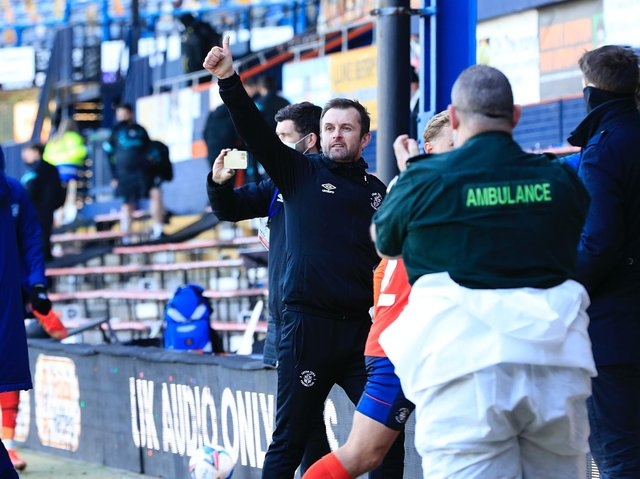 Hatters boss Nathan Jones