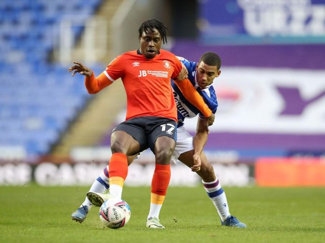 Luton midfielder Pelly-Ruddock Mpanzu