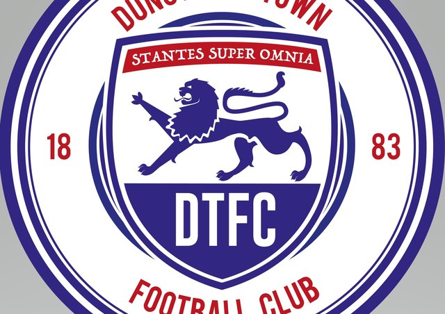 Dunstable Town's new club crest
