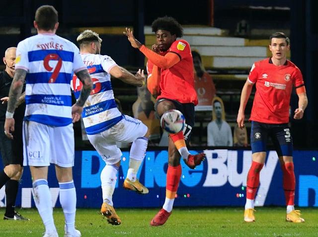 Hatters midfielder Pelly-Ruddock Mpanzu
