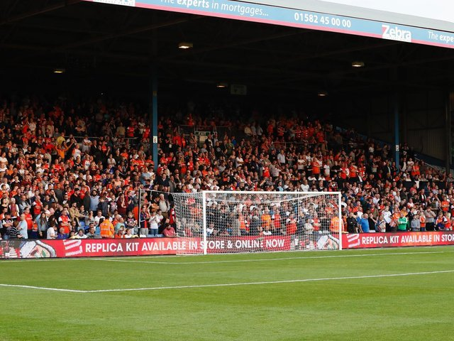 Town will be hoping to welcome a full house back for the opening day against Peterborough