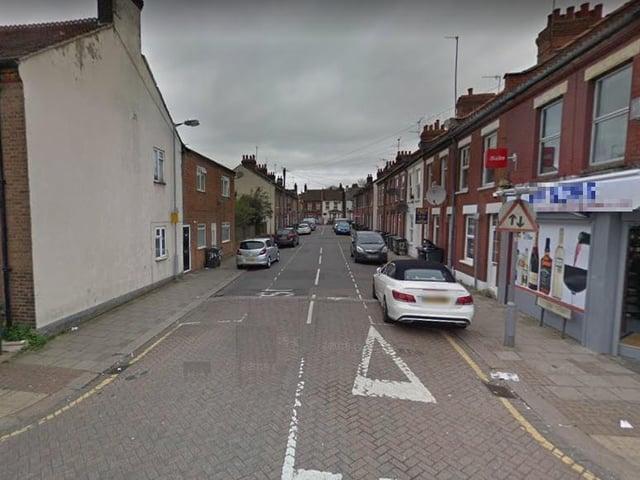 The incident happened in William Street