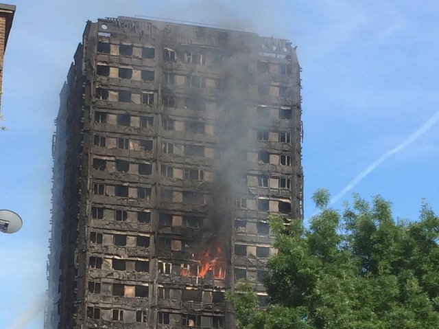 72 people died when a fire broke out at Grenfell Tower on June 14, 2017.