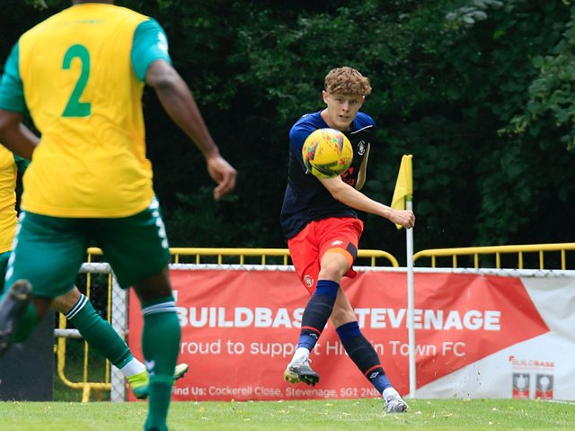 Town midfielder Sam Beckwith has signed a new development contract with the club