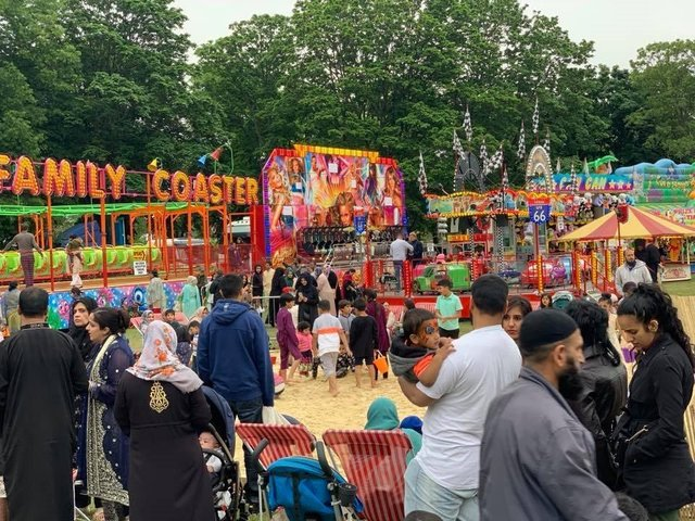 The Eid festival is open to people of all cultures and religious beliefs
