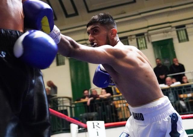 Luton boxer Jahid Munim