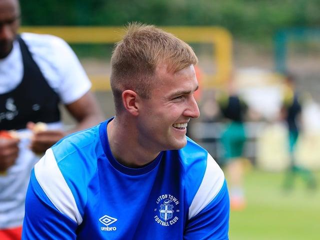 Town defender James Bree