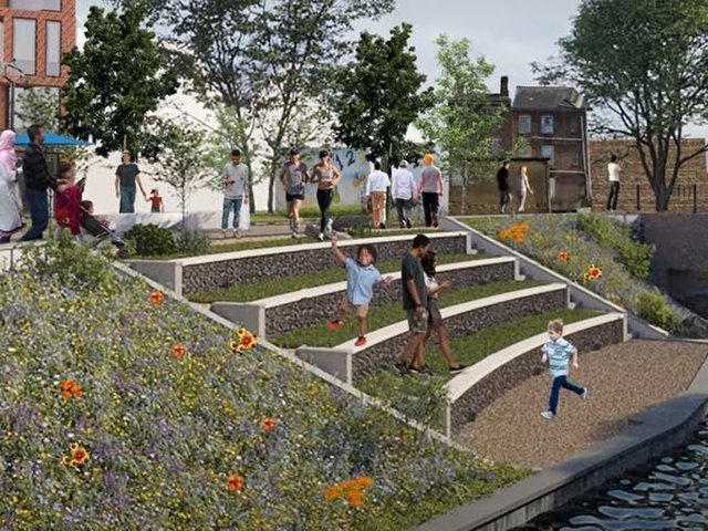 Luton town centre masterplan has now been named 'Creating a vision – delivering a change'
