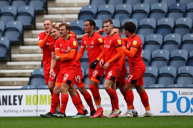 Luton Town's predicted end of season standing in Championship table. (Photo by Alex Livesey/Getty Images)