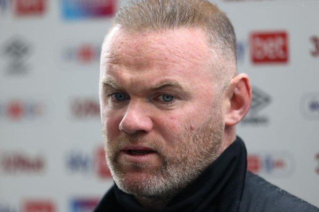Wayne Rooney, Manager of Derby County. (Photo by Alex Pantling/Getty Images)
